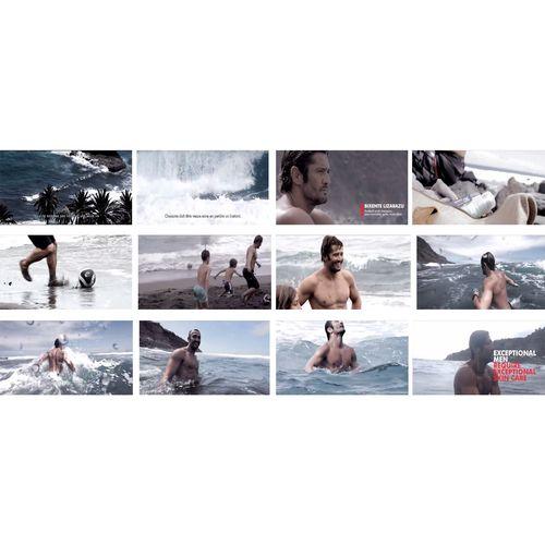 Biotherm Homme - Age Fitness 2014 Pub Campaign Bixente Lizarazu