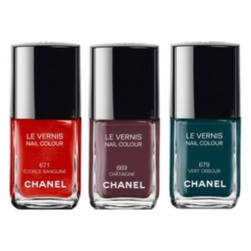 Chanel Vernis N ° 671, N ° 669, N ° 679 Collection Les Automnales 2015