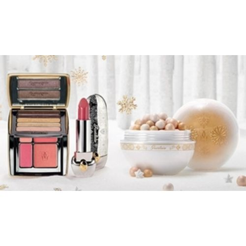 Snow & Christmas Wonders Makeup Look 2015 Guerlain