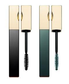 Clarins Truly Mascara Waterproof 01 Intense Black & 03 Aquatic Green