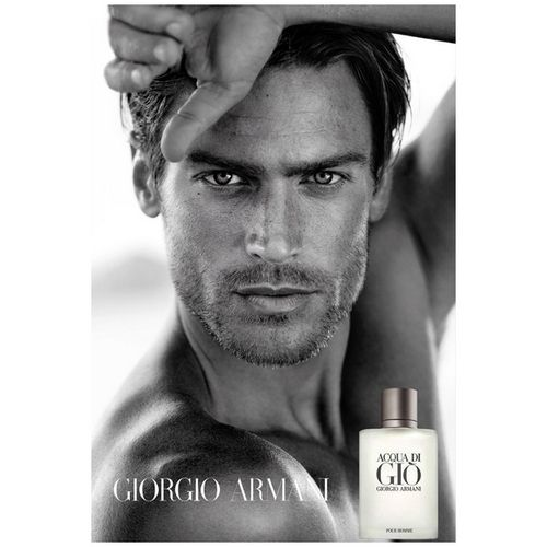 Acqua Di Gio d'Armani, an inspiration drawn from the hollow of the waves