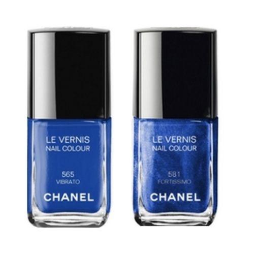 Chanel Nail Polish N ° 665 Vibrato, N ° 681 Fortissimo