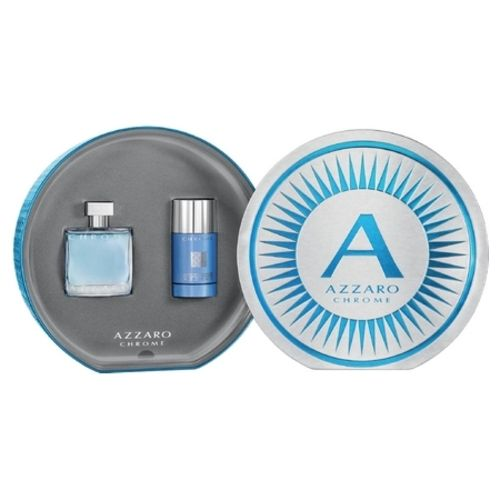 Chrome Azzaro, a Mediterranean fragrance available in a new box