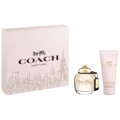 Offer the Coach perfume in a box for Christmas