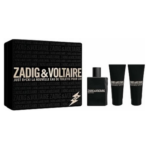 Zadig & Voltaire signs a box set of their latest perfume Just Rock for Him