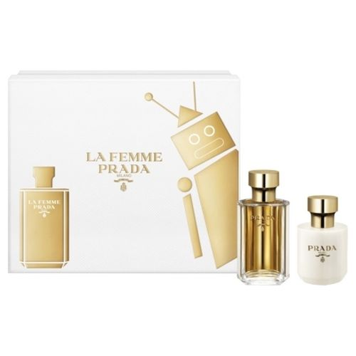 Refined and confusing, the new La Femme Prada perfume box is finally here!