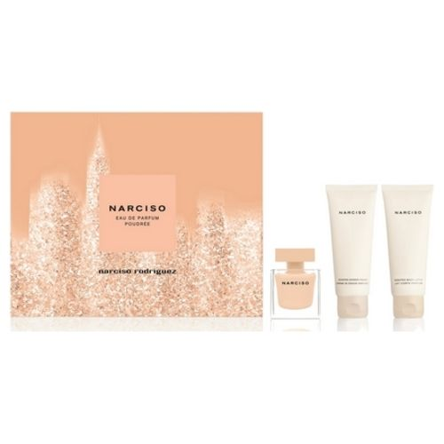 Narciso Rodriguez discloses a set for its Narciso Poudrée fragrance