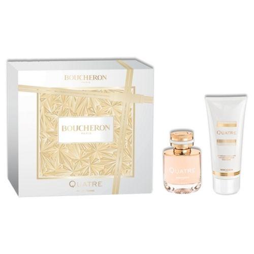 The return of Boucheron's famous Quatre Pour Femme perfume box