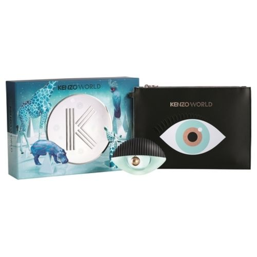 The eye of Kenzo World finally available in a new scented box