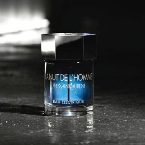 The Night Of The Man Electric Water YSL and its magnetic fern