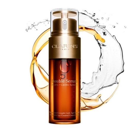 Clarins presents the new version of the Double Serum