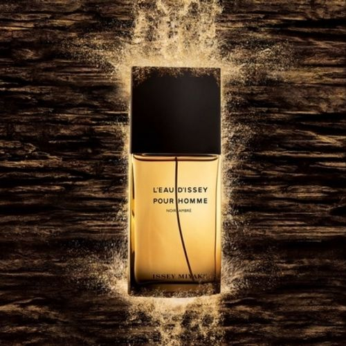L'Eau d'Issey pour Homme d'Issey Miyake reinvents itself in an Amber Black format