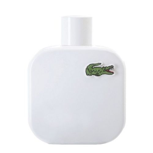Eau de Lacoste Blanc, the sporting universe mingles with perfumery