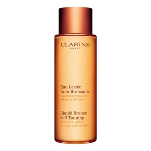 Clarins Self-Tanning Milky Water for Face and Décolleté