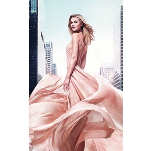Elie Saab Rose Couture with Toni Garrn