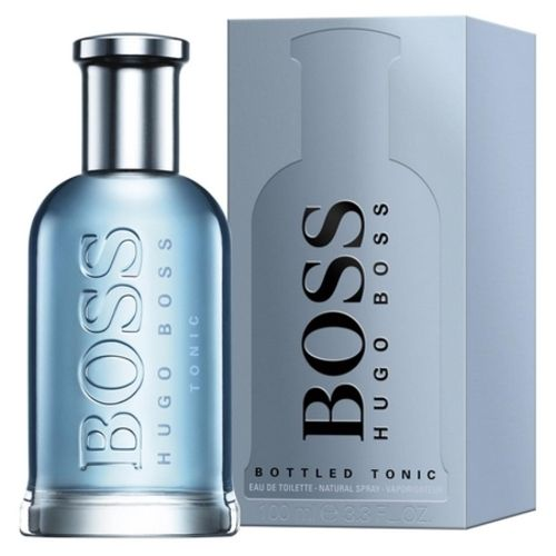 The distinguished sobriety of Boss Bottled Tonic by Hugo Boss