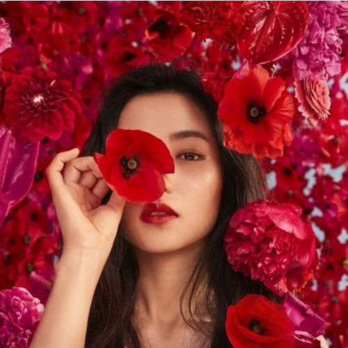 the latest ad for the iconic Flower by Kenzo Poppy Bouquet