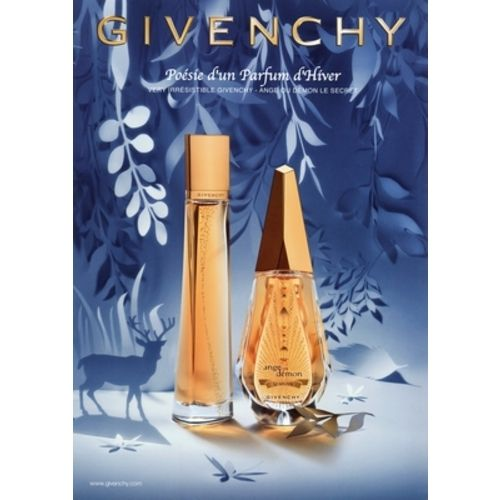 Givenchy - Very Irrésistible Poetry of a Winter Perfume 2011 - Pub