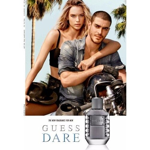 Dare For Men, the new fragrance from the house of Guess