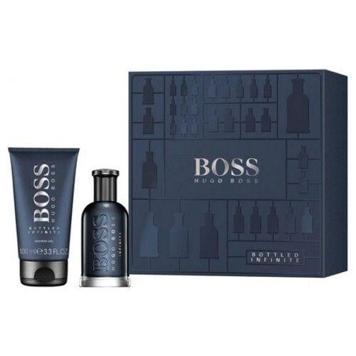 the new box rich in contrast: Boss Bottled Infinite by Hugo Boss