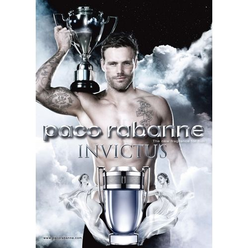 Invictus by Paco Rabanne, the alliance of sport and mythology