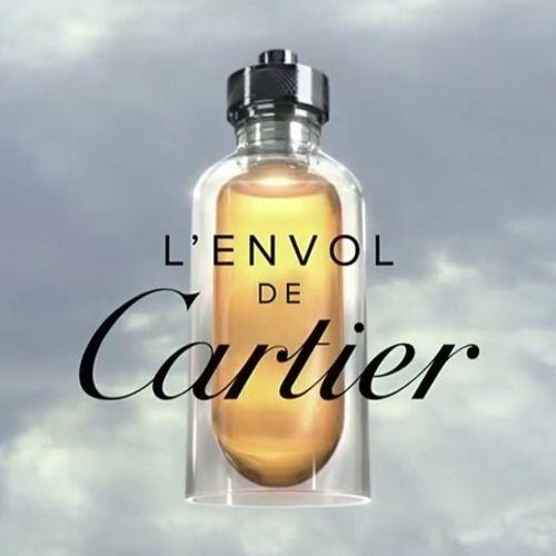L'Envol de Cartier gets a new advertisement