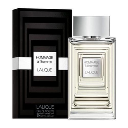 Lalique - Hommage à L'Homme - Bottle with case