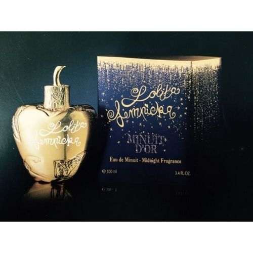 Minuit d'Or perfume bottle with its case