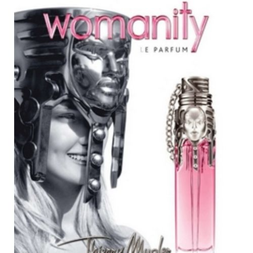 Ophélie Rupp muse of Womanity perfume
