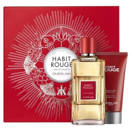 Guerlain and its latest Habit Rouge perfume box