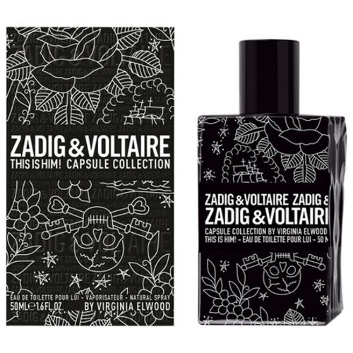 This is Him Capsule Collection, Zadig & Voltaire tattoos their new perfume!