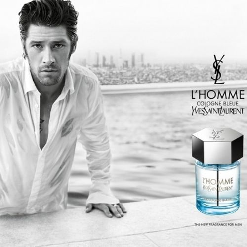 The new ad of L'Homme Cologne Bleue YSL