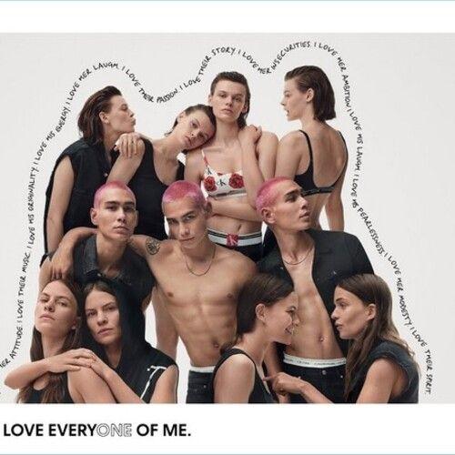Glen Luchford in partnership with Calvin Klein for an advertisement