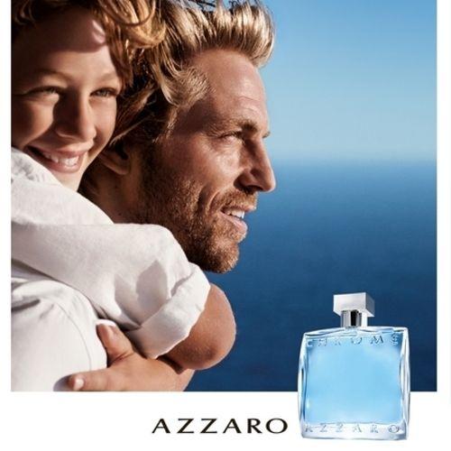 Azzaro Chrome fragrance ad