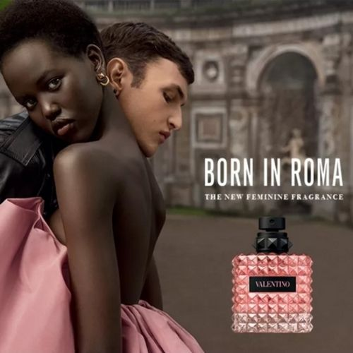 New fragrance advertisement Born in Roma by Valentino