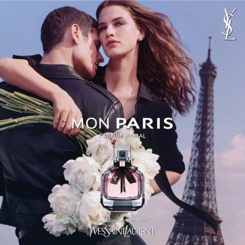 Pub Mon Paris YSL Floral Perfume