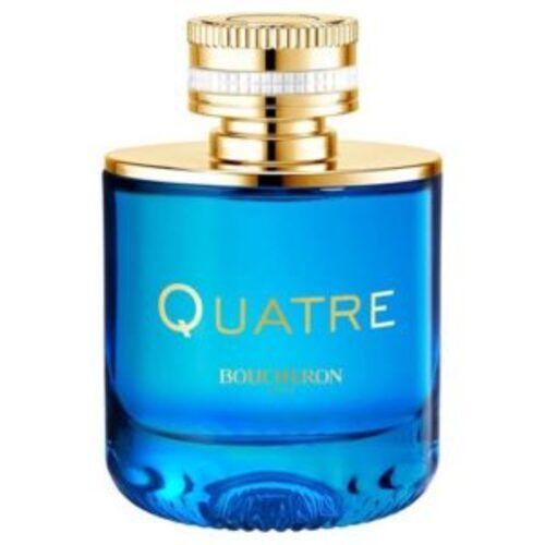 The famous Boucheron ring in a new fragrance: Quatre en Bleu