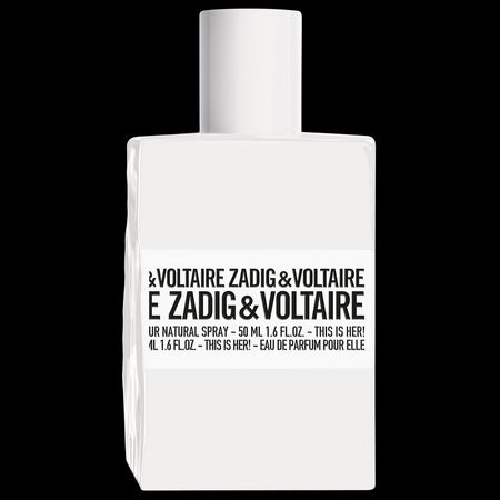 This is Her, the new Zadig & Voltaire bottle