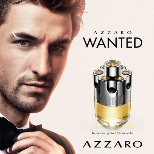 The fragrance of Azzaro's Wanted perfume