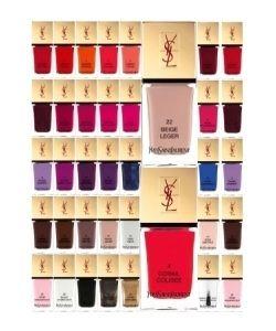 YSL - La Laque Couture - Colors