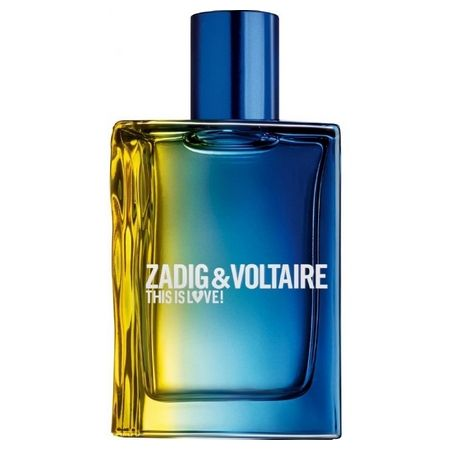 This is Love!  For him, the smell of charm according to Zadig & Voltaire